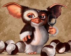 Gizmo and a nice vintage water Gremlins Gizmo, Pokemon, Weird Creatures, 5d Diamond Painting, Cross Paintings, Diamond Art, Diy Painting, Cross Stitch Embroidery, Drawings