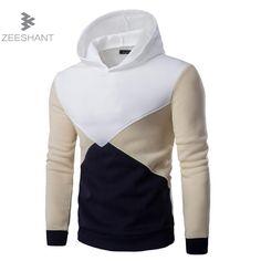 dcf7de22ca8fb 2017 New Spring Hoodies Men Sudaderas Hombre Mens Brand Patchwork Hoodie  Sweatshirt Tracksuit Slim Fit Men Hoody Sportswear