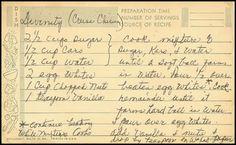 Family Recipe Friday - Cruse Chisum's Divinity #genealogy #familyhistory