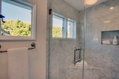 Add an abundance of natural daylight to your bathroom with the top 70 best shower window ideas. Explore circular to rectangular window designs. Bathroom Windows In Shower, Small Bathroom Paint, Master Bathroom Shower, Window In Shower, Loft Bathroom, Guest Bathrooms, Bathroom Renos, Bathroom Ideas, Window Design
