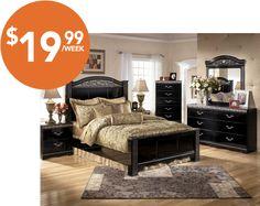 Majik Rent To Own Ashley Constellations Bedroom Set Id B104
