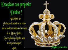 "JESUS PODEROSO GUERRERO: Apocalipsis 1:6~~~"" Escogidos con proposito Divino """