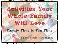 family activities everyone will enjoy