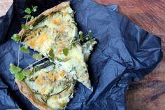 FrkCurting: Spinat/hytteost tærte