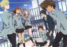 Kido Jyou, Ishida Yamato, Izumi Koushirou, Takenouchi Sora, Yagami Taichi, Tachikawa Mimi