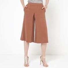 Jupe-culotte Lingerie, Leggings, Capri Pants, Couture, How To Wear, Shopping, Clothes, Style, Google