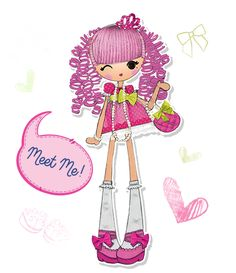 Lalaloopsy girls jewel sparkles artsy art pinterest for Lalaloopsy jewel sparkle coloring pages