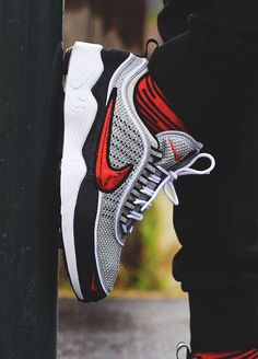 """sweetsoles: """"Nike Air Zoom Spiridon 2016 Retro (by Sneakers greatly benefit from shoe trees related to care, preservation, display and travel. Sole Trees makes premium shoe trees for sneakers """" Retro Sneakers, Sneakers Nike, Adidas Shoes, Nike Air Zoom Spiridon, Hypebeast, Nike Boots, Shoe Tree, Baskets, Nike Shoes Outlet"""