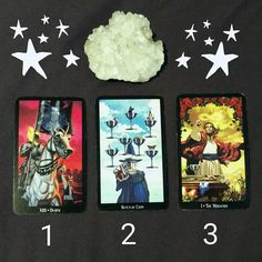 Here are the readings from the pick-your-card post!  1. #Death: You are currently undergoing a #transformation. While all the new ways you are growing are #exciting it's also important that you take the time to properly #release what no longer serves you. Spend some time consciously thinking about what you need to eliminate from your life and set some clear achievable #goals for yourself. As you release you make room for all the goodness that is entering your life!  2. 7 of Cups: You have a…