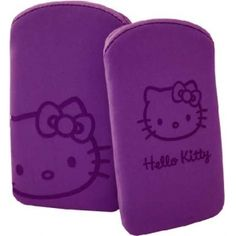 HUSA HELLO KITTY HKNULAPU POUCH NUBUCK FUCSIA PT. IPHONE4/4S