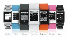 """TOUCH TIME: Digital Watch with Touch Screen  by Donald Brewer  Next generation digital watch with a touch screen, Smartphone-like watch apps, """"always on"""" display, and you never need to charge it."""