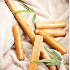 Warm Bamboo massage relaxes your muscles while offering a deep tissue massage. We'll be offering this soon!