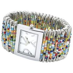 safety pin watch. I think I can make this.