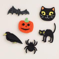 Halloween Characters Felt Stickers, 12-Pack   World Market