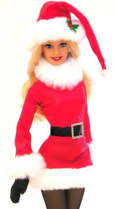 "Christmas. ""We girls can do anything...Right, Barbie?"" http://www.pinterest.com/SuburbanFandom/barbie-girl-in-a-barbie-world/"