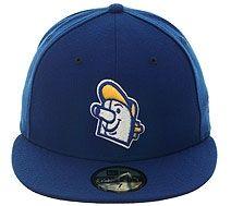New Era 5950 Milwaukee Brewers Barrelhead Fitted Hat - Royal Blue