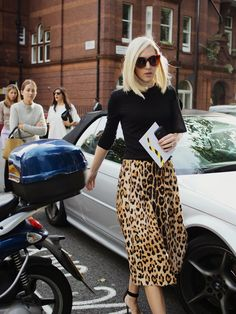 London Fashion by Paul: Street Muses....Preen Spring/Summer 2015, London