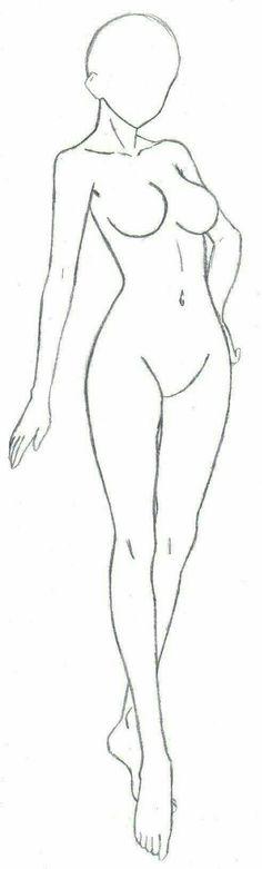 Girl, body, female; How to Draw Manga/Anime