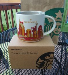 NASHVILLE Tennessee Starbucks COFFEE MUG *You Are Here* Series Collectible NEW #Starbucks