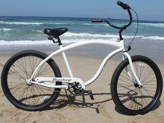 """Firmstrong Bruiser 3 Speed - Men's 26"""" Beach Cruiser Bike"""