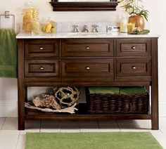 I might need to get one like this with the open bottom because my vent is on the wall next to the sink. They have similar ones at Lowes.