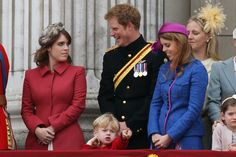 Prince Harry, Princess Eugenie, Princess Beatrice