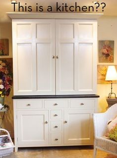 Charmant Small Kitchen In A Cupboard. Follow The Link And It Will Show You The Open