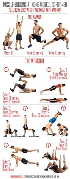 At-Home-Workouts-for-Men-Full-Bodyweight-Workout-With-Warmup #instafollow #FF #vitaminD #vitaminC