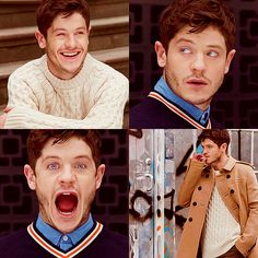 Iwan Rheon... hello perfect!