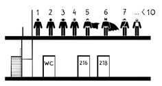 czy WC toaleta lazienka moze byc na innym pietrze niz miejsce pracy