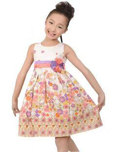 Sunny Fashion Mädchen Kleid Neu Blumen- Saum Doppelklicken Bogen Binden von Sunny Fashion, http://www.amazon.de/dp/B00BODEXRI/ref=cm_sw_r_pi_dp_9j8Asb0V24VJ0