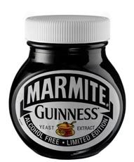 Irish stout: Marmite Guinness - described as less salty and less meaty than the original - launched in 2007 Irish Cheers, Limited Edition Packaging, Yeast Extract, Marmite, Irish Recipes, Guinness, Food Porn, Food And Drink, Beer