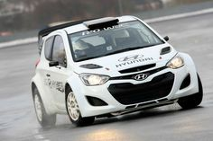 Hyundai i20. A popular choice amongst my friends at the moment, although without the rally trim (sadly)