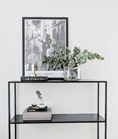 Design Of Sideboard - Design Of @ RoyalDesign. Sideboard Decor, Interior, Hallway Inspiration, Interior Inspiration, Living Room Decor, House Interior, Room Decor, Interior Inspo, Interior Deco