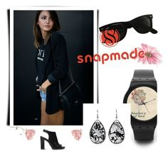 """Snapmade #9/2"" by soofficial87 ❤ liked on Polyvore featuring Ray-Ban and Michael Kors"