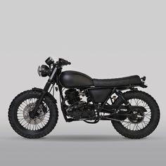 Non more Black. Bark at the Moon. Bark At The Moon, Enfield Classic, Black Sabbath, Super Bikes, Scrambler, Concept Cars, Birmingham, Motorbikes, Badass