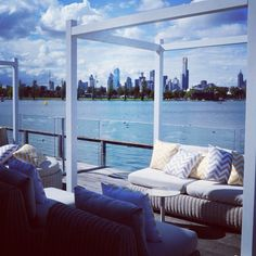 Carousel Balcony Converted For A Wedding With Remarkable Waterfront And Melbourne Views