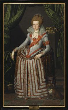 Anna Katarina, 1575-1612, prinsessa av Brandenburg, drottning av Danmark