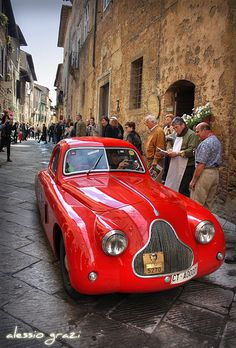 1000 miglia in Pienza - FIAT 508 CS by alessio grazi, via Flickr