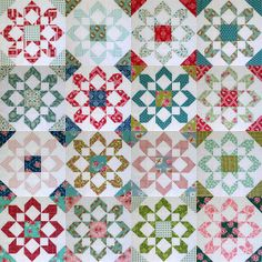 Gone Aussie Quilting: Working on Fireworks by Camille Roskey