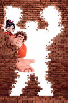(Wreck-It Ralph) - Disney Disney Pixar, Cartoon Disney, Disney Films, Disney Animation, Disney Art, Animation Movies, 3d Animation, Disney Stuff, Disney Magic