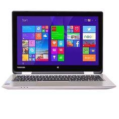 Toshiba Satellite Radius 11 L15W-B1303 Touchscreen Celeron N2840 Dual-Core 2.16GHz 2GB 32GB SSD 11.6 LED Laptop W8.1