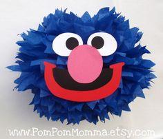 Sesame Street Grover Tissue Paper Pom Pom