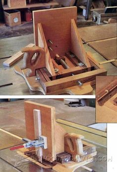 Advanced Tenon Jig Plans - Joinery Tips, Jigs and Techniques | WoodArchivist.com