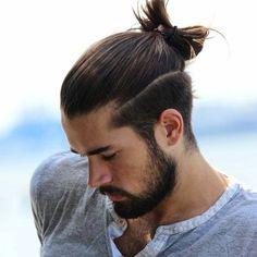 2017 Erkek Topuz Saç Modelleri