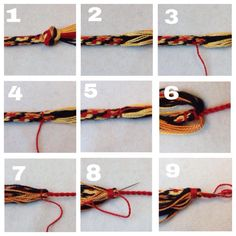 (( Closures )) Small braids for a kumihimo - Tutorial - friendship-bracelets.net