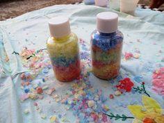 Angolino di Liana: Lavoretto per bambini: Sale colorato