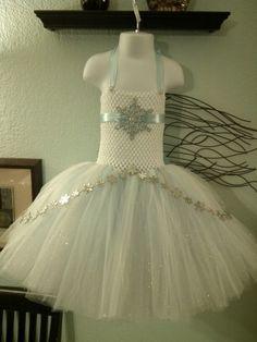 Snowflake tutu dress