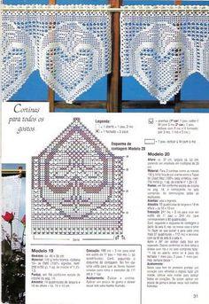 Gardine häkeln - cortinas crochet curtain CORTINAS - Margareth Mi - Álbumes web de Picasa