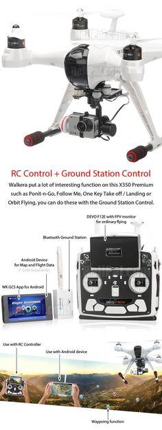 Walkera QR X350 Premium GPS Drone (RTF Edition) http://www.helipal.com/walkera-qr-x350-premium-gps-drone-rtf-edition.html: